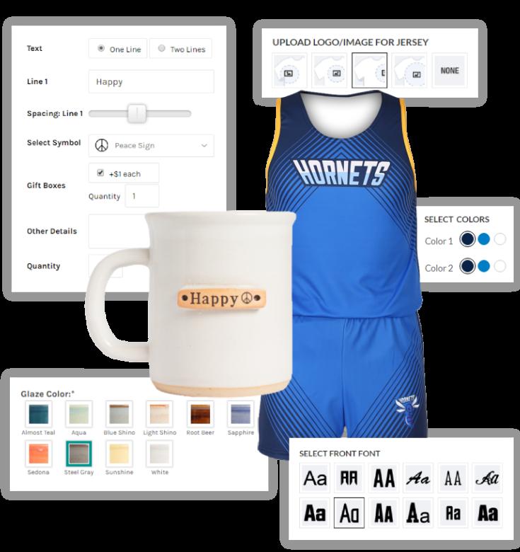 The FUSE Digital LLC-BigCommerce Product Customization,Designer